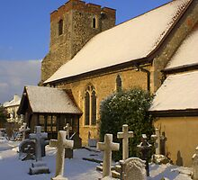 st Andrews in the snow by lurch