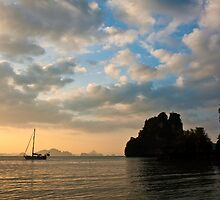 Thailand Sunset by Nickolay Stanev