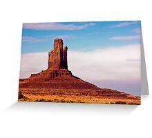Monument Valley Pinnacle Greeting Card