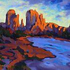 Cathdral Rocks by Konnie Kim