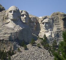 Mount Rushmore by Eden McMullen