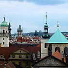 Prague skyline by polanri