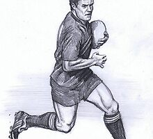 Dan Carter 4 - All Black by Alleycatsgarden