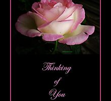 Thinking of You (pink) by Louise Page