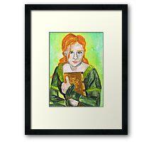 Daughter of Fál Framed Print
