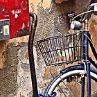 Bike against the Wall by ronda chatelle