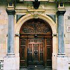 Geneve. A Door. Switzerland 2005 by Igor Pozdnyakov