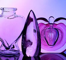 Glass Bottles & Crystal by Amy Jackson