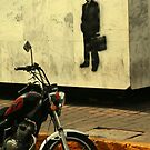 Man in Black by Larry  Stewart