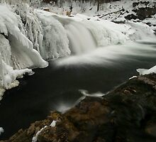 Willow Falls, Winter by Michael Treloar