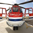 Helicopter Eurocopter AS332L1 Puma by Mark Hamilton