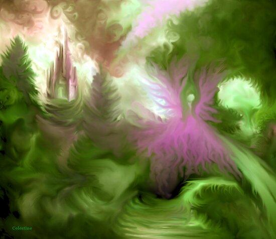 Pink Goddess by celestinesims