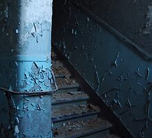 Blue stairs by polanri