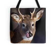 Young Whitetail Buck - White-tailed Deer Tote Bag