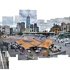 Federation Square - Melbourne - Australia by Andrew Brooks