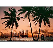 Campaign Memories: Off Shore Drill Romance Photographic Print