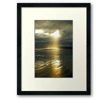 Let it shine.... Framed Print