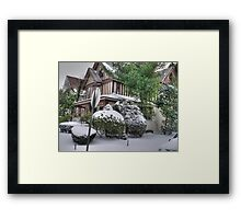 beverley front view Framed Print