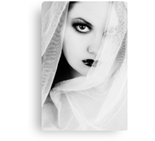 Lonely Pierrot Canvas Print
