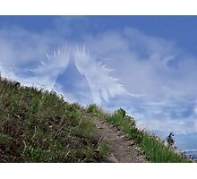 Waiting Wings (for Sally & Moe Omar) Photographic Print