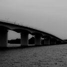 Bridge into Dusk by deahna