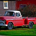 Stolen Red Pickup #2 by Bryan D. Spellman