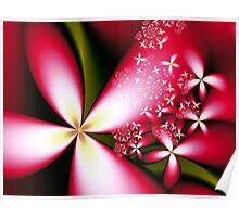 Merry Little Flowers  Poster