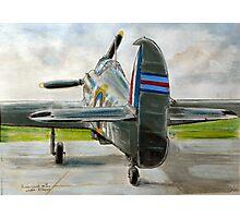 Hurricane Mk2c, LK-A Photographic Print