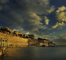 Pride of The Fortress Builders (Valletta Malta) by Edwin  Catania