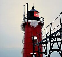 South Haven Lighthouse by Judy Seltenright