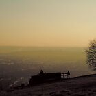 Box Hill View Point Sunset by Eyeswide