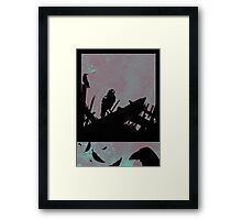 Feathered Friends Singing In The Wreckage Framed Print