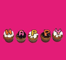 Happy Cupcakes - pink :) by tali