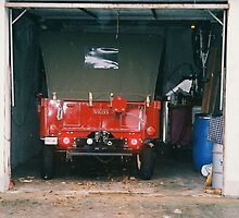 Locarno. Willy's Jeep. Ticino, Switzerland 2005 by Igor Pozdnyakov