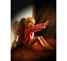 """""""Angel Within"""" Photographic Print"""