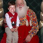 Santa and Me by Jeff  Burns