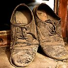 shoes of the worker by marcwellman2000
