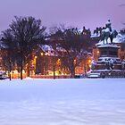 Edinburgh Winter by Chris Clark