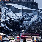 Edinburgh Winter I by Chris Clark