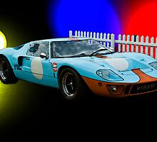 Gulf GT40 by Willie Jackson