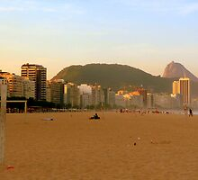 On the beach in Rio by atoth