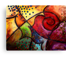 The Butterfly Wing Canvas Print