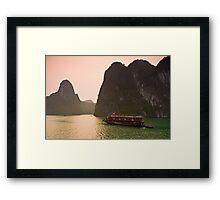 Halong Bay Sunrise Framed Print