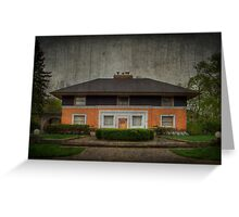 William H. Winslow House Greeting Card