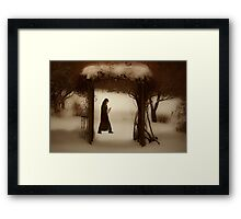 If on a winter's night Framed Print