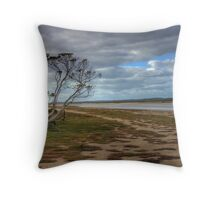 The Coorong - Backwater - The Coorong, Limestone Coast, South Australia Throw Pillow
