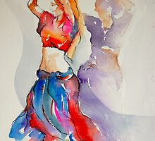 2 belly dancers by gerardo segismundo