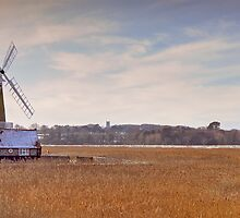 Cley Windmill, Norfolk by Richard Heeks