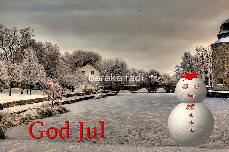 God Jul by Fadi  Barake