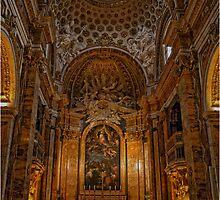 Chiesa di S.Luigi dei Francesi, Roma by Andrea Rapisarda